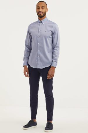 slim fit pantalon MAliam donkerblauw