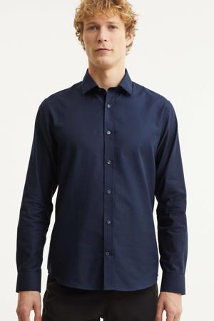 regular fit overhemd MAtrostol  donkerblauw
