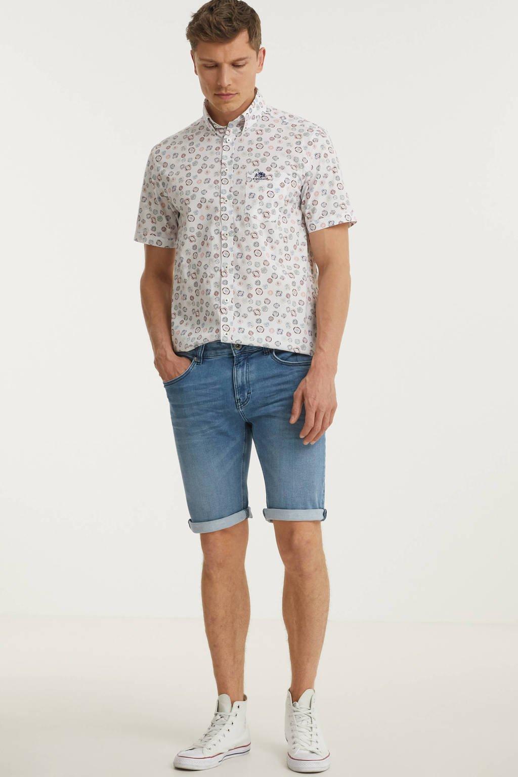 GABBIANO slim fit jeans short 82727 bleach, Bleach