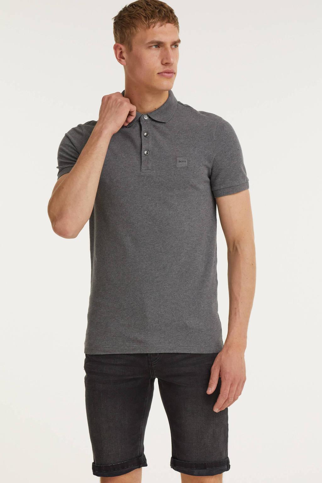 GABBIANO slim fit jeans short 82730 black, Black