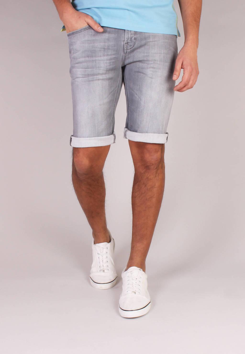 GABBIANO slim fit jeans short 82726 grey, Grey