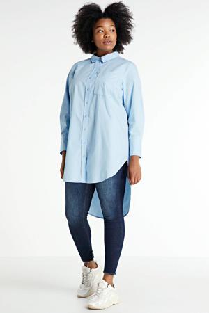 blouse Jala lichtblauw