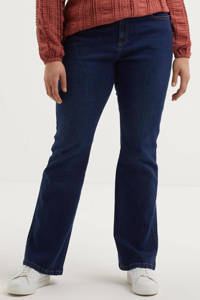Zizzi high waist bootcut jeans Olivia dark demim, Dark demim