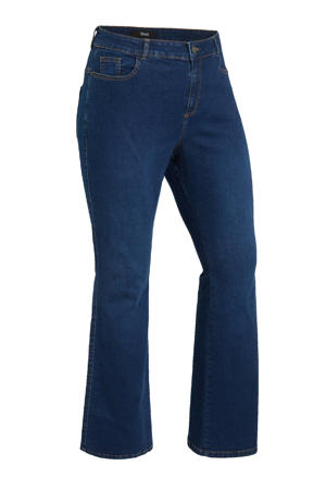 high waist bootcut jeans Olivia dark demim