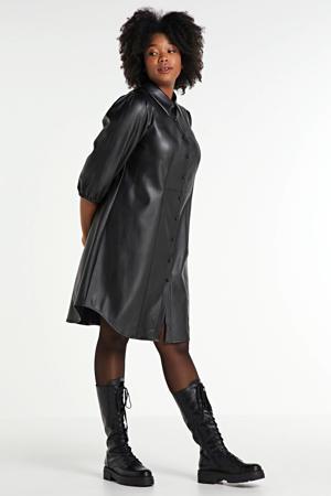 coated blousejurk Jalen zwart