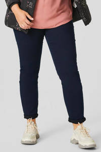 C&A XL Yessica skinny jeans donkerblauw, Donkerblauw