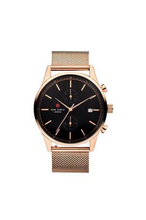 horloge Soho District SL1100033 rosé/zwart