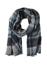 Sarlini sjaal denim blauw, Denim blauw