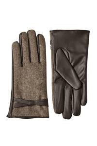 Sarlini handschoenen kaki/olijfgroen, Kaki/olijfgroen