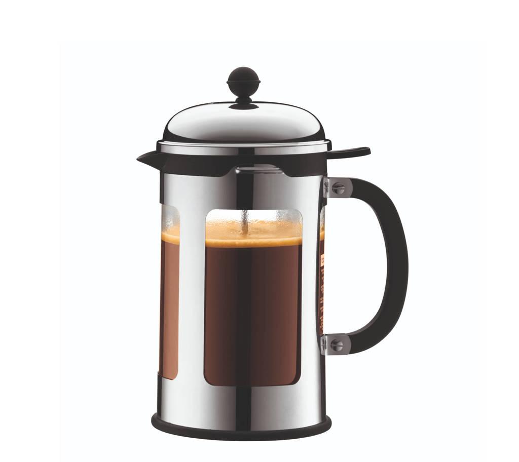 Bodum cafetière Chambord RVS (0.35 liter), Zilverkleurig