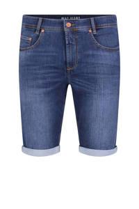 MAC straight fit jeans short blauw, Blauw