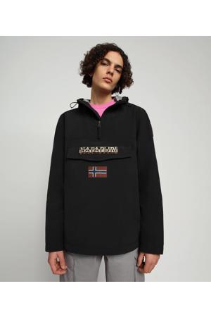 anorak RAINFOREST M SUM 2 met logo zwart