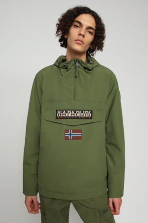 zomerjas RAINFOREST M SUM 2 met logo groen