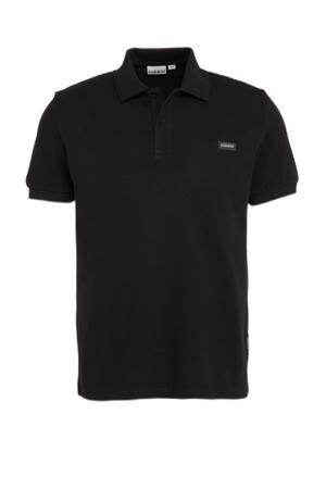 regular fit polo Taly zwart