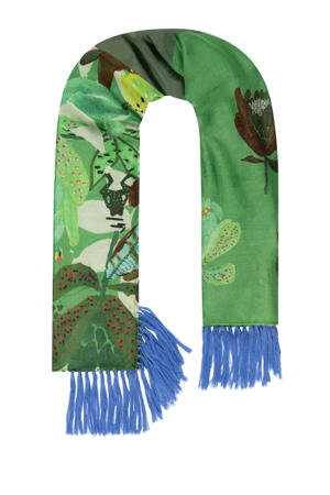 sjaal Lemons Patchwork groen