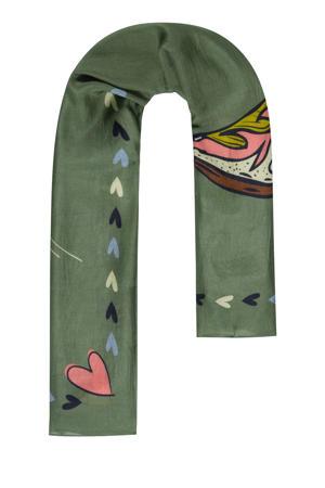 sjaal Dancing Boots groen