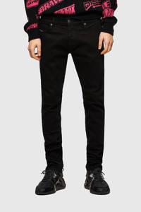 Diesel slim fit jeans D-Luster zwart, Zwart
