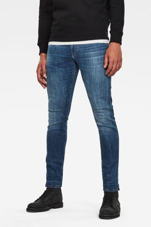 skinny fit jeans 3301 deconstructed medium indigo aged