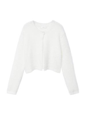 imitatiebont vest wit