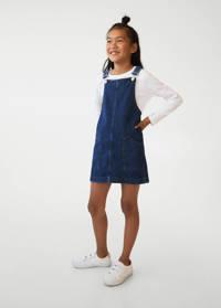 Mango Kids spijkerovergooier, Donkerblauw