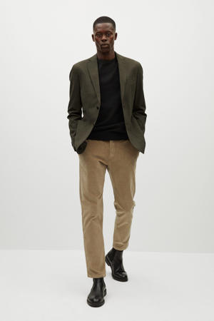 slim fit colbert groen