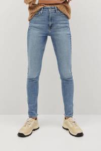 Mango high waist skinny jeans Soho light blue denim, Light blue denim