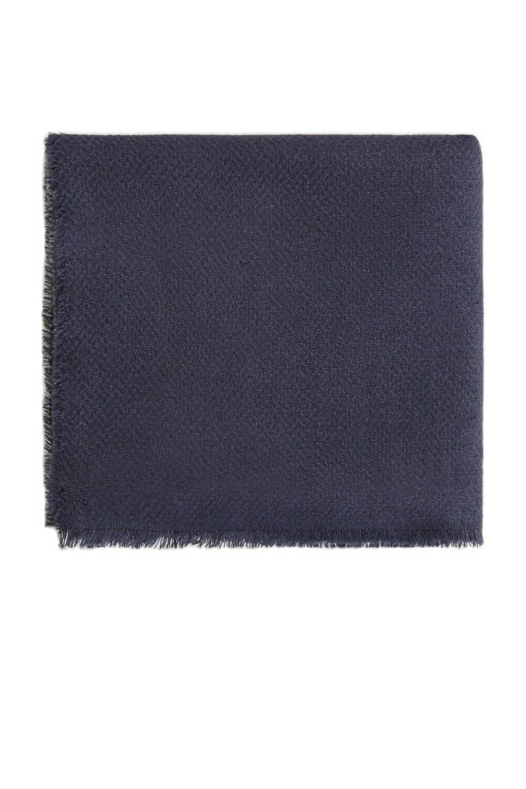 Mango Man sjaal blauw, Blauw