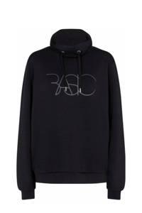 Soyaconcept sweater SC-BANU 22 met tekst zwart, Zwart