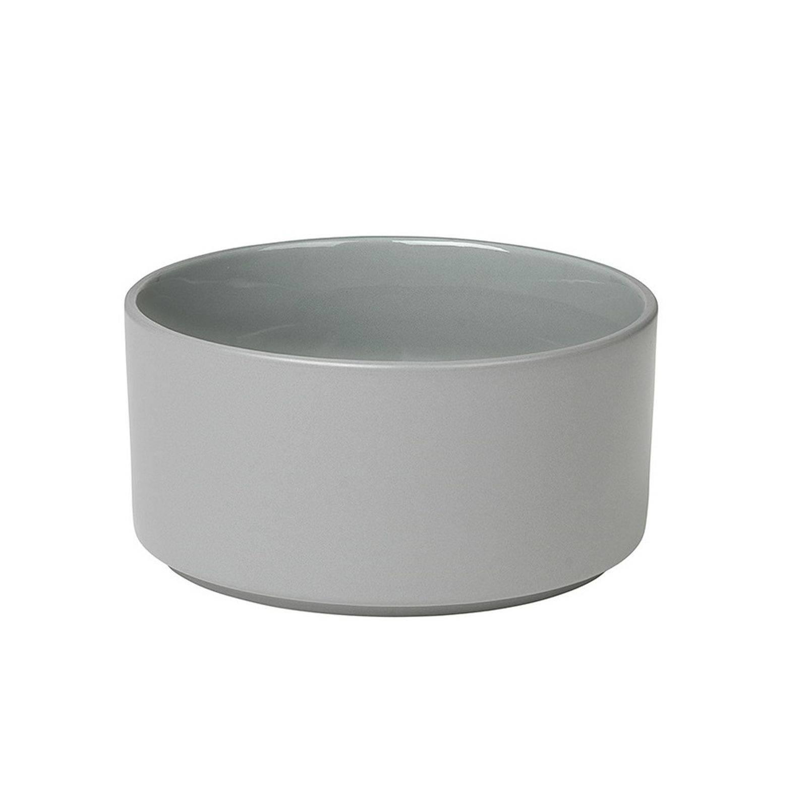 Blomus Soepkom Pilare Mirage Grey (Ø14 cm) online kopen