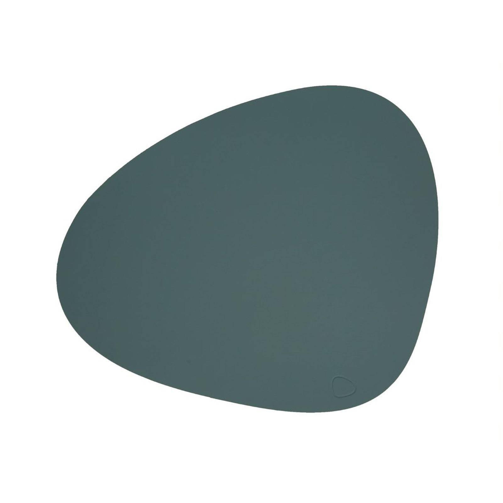 Merkloos Lind Dna Placemat Leer Softbuck Groen 37 X 44 Cm online kopen