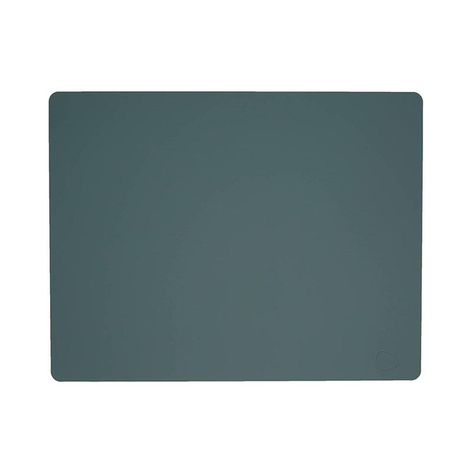 Merkloos Lind Dna Placemat Leer Softbuck Groen 35 X 45 Cm online kopen