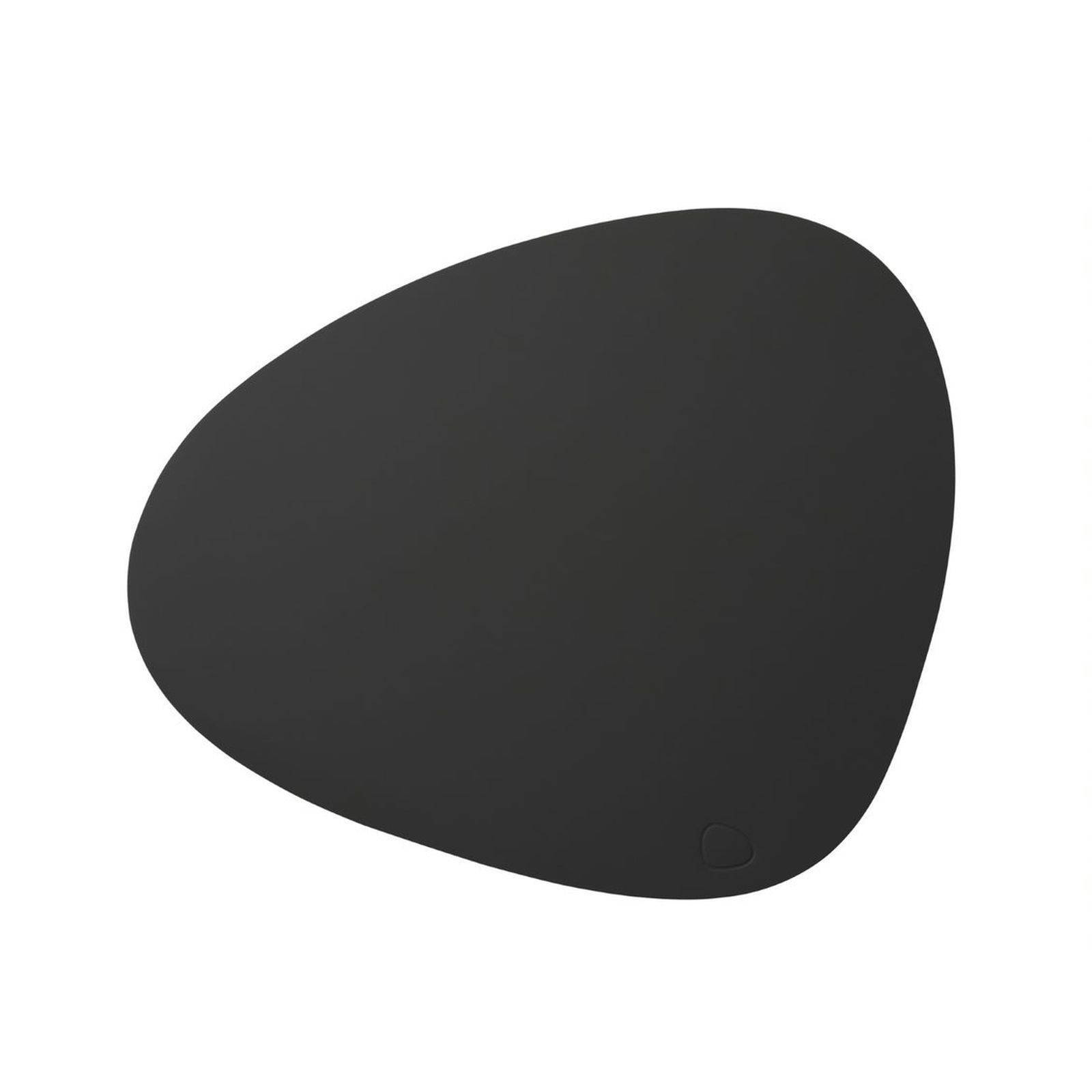 Merkloos Lind Dna Placemat Leer Softbuck Donkergrijs 37 X 44 Cm online kopen