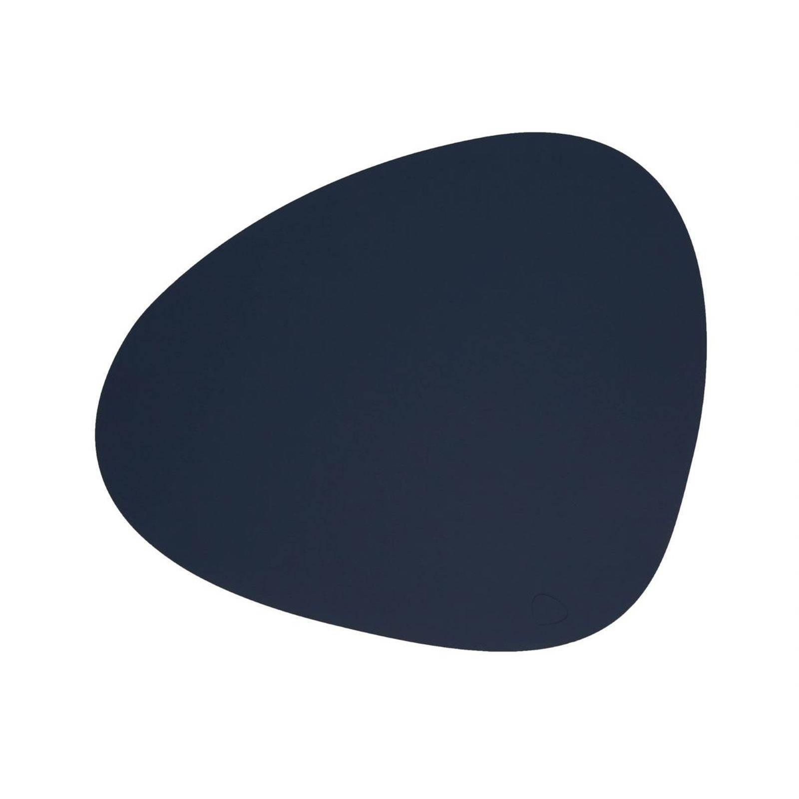 Merkloos Lind Dna Placemat Leer Softbuck Blauw 37 X 44 Cm online kopen