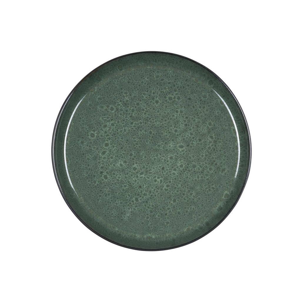 Bitz dinerbord, Groen,zwart