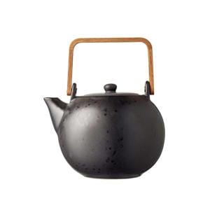 Theepot Zwart (1.2 Liter)