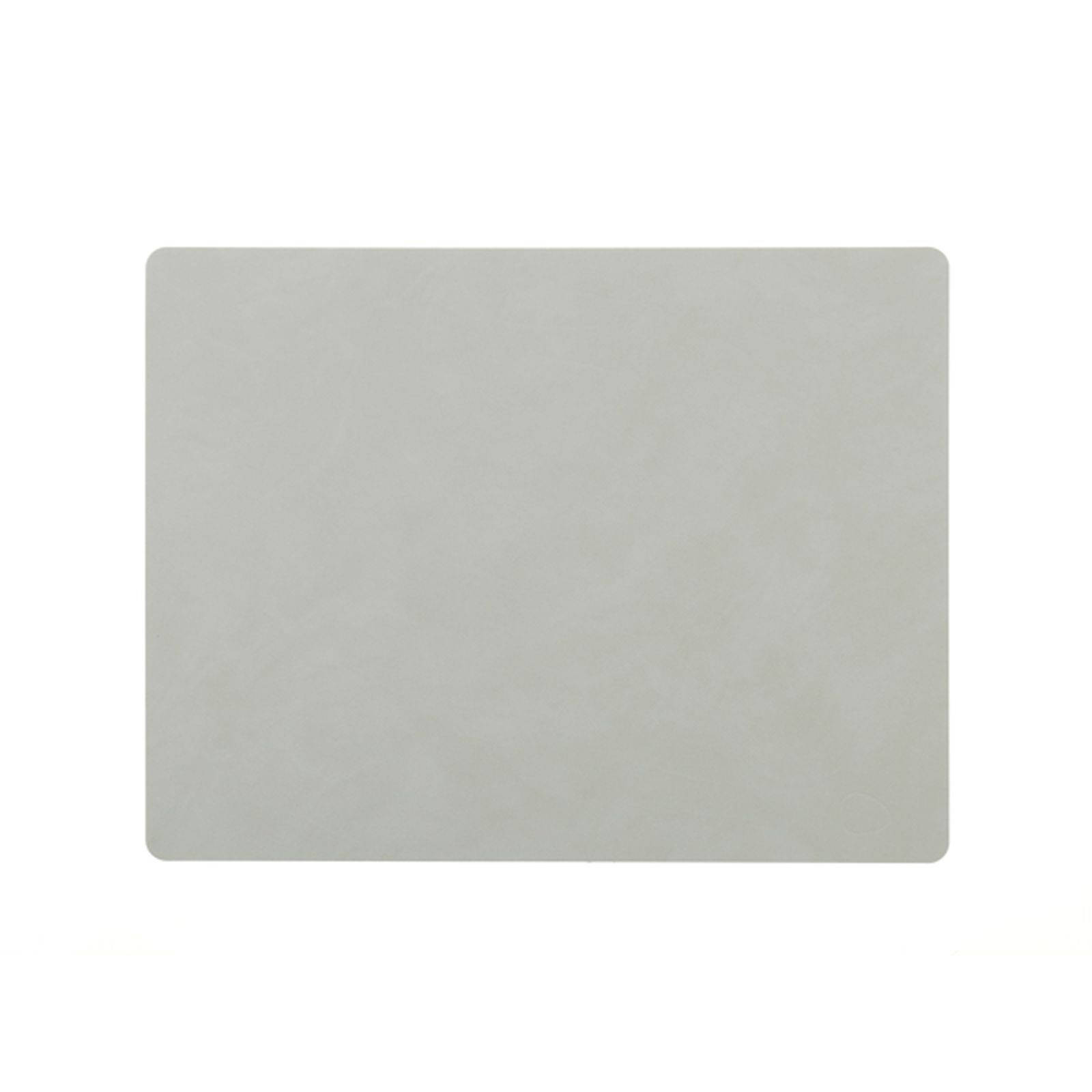 LIND DNA Nupo placemat square L metallic (steengrijs) online kopen