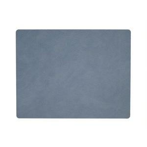 Placemat Leer Hippo Lichtblauw (35x45 cm)