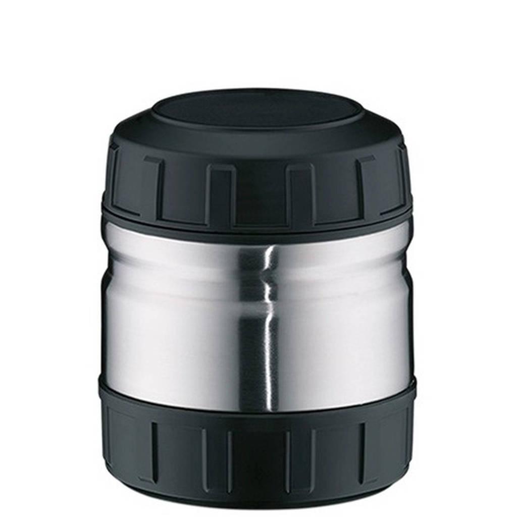 Alfi voedseldrager Inox (0.5L), Zwart,Zilverkleurig
