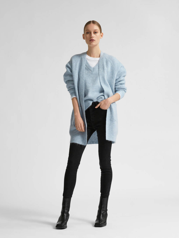 SELECTED FEMME trui lichtblauw, Lichtblauw