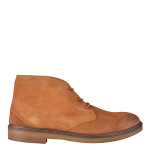 Halloween  suède desert boots cognac