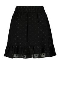 America Today rok Rose-Ann met volant zwart, Zwart