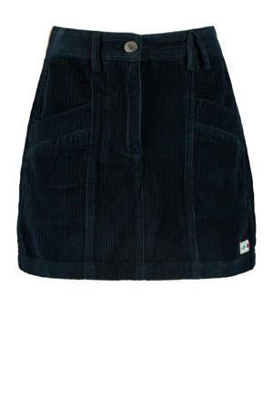 corduroy rok Roxan donkerblauw