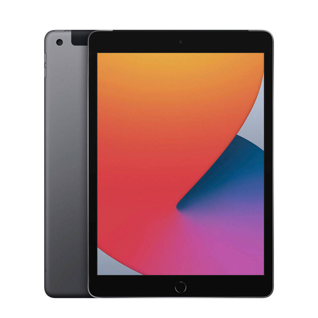 Apple 10.2-inch iPad Wifi + Cellular 128GB (space grey), Grijs