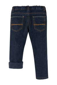 C&A Palomino slim fit thermo jeans donkerblauw, Donkerblauw