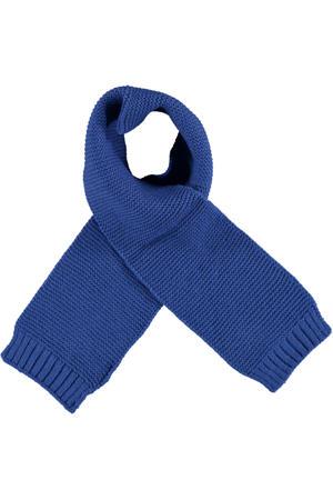 sjaal kobaltblauw