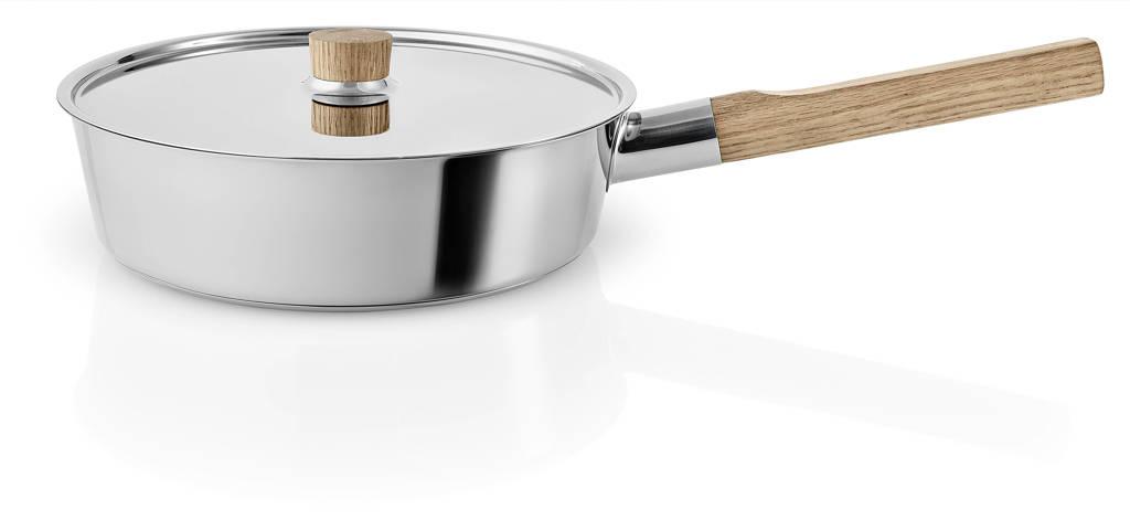 Eva Solo  Hapjespan Nordic Kitchen RVS (Ø24 cm), Bruin,Zilverkleurig