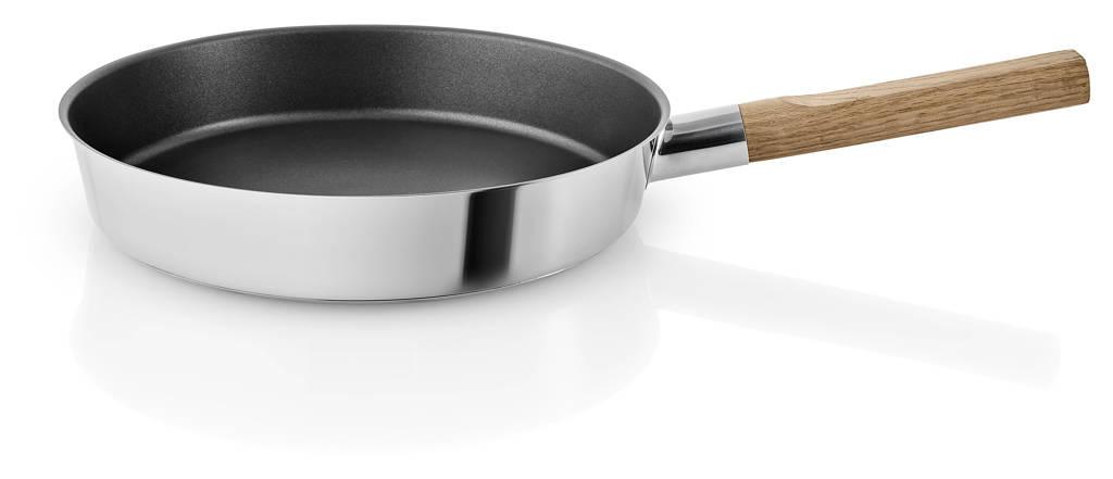 Eva Solo  koekenpan Nordic Kitchen RVS (Ø28 cm), Bruin,Zilverkleurig