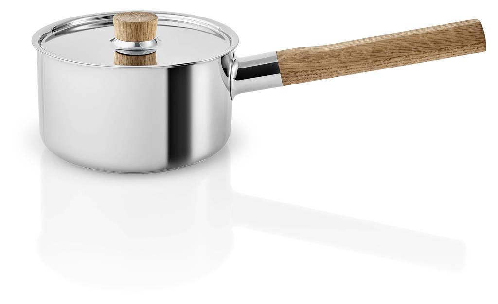 Eva Solo  Steelpan Nordic Kitchen RVS (Ø16 cm), Bruin,Zilverkleurig