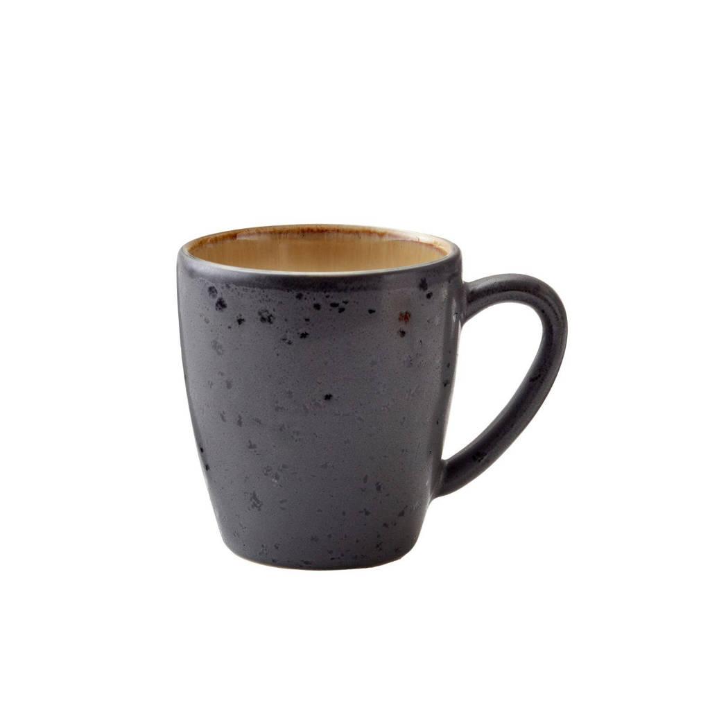 Bitz mok (19 cl), zwart/amber