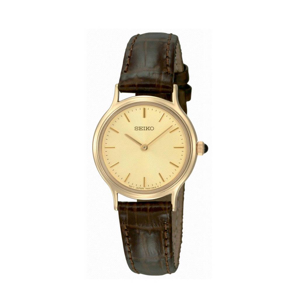 Seiko horloge SFQ832P1, Bruin